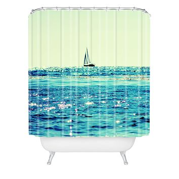 Lisa Argyropoulos Sailin Shower Curtain