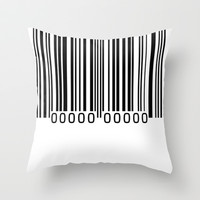 FOR SALE Throw Pillow by THE USUAL DESIGNERS