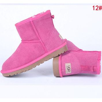 "Hot Sale ""UGG"" Winter Fashion Women Wool Snow Boots 12# I/A"