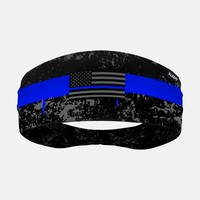Rusty Thin Blue Line Headband