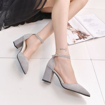 Shoes Woman New High Heels Ladies Shoes