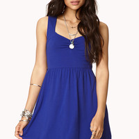 Favorite Fit & Flare Dress w/ Belt
