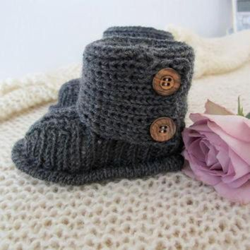 CHEN1ER Baby UGGs Pattern in English by hildevesle on Etsy