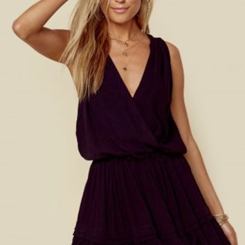 BALMY HALTER DRESS