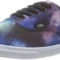 Vans Unisex Authentic Lo Pro (Cosmic Galaxy) Blk/TruWht Skate Shoe 8.5 Men US / 10 Women US
