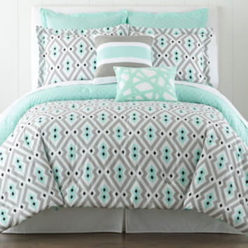 Happy Chic by Jonathan Adler Nina 3-pc. Comforter Set and Accessories