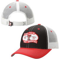 Texas Tech Red Raiders Zephyr Billboard Adjustable Trucker Hat – Scarlet