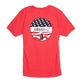 Star Spangled T-Shirt in Serrano by Johnnie-O