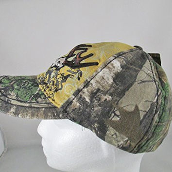 Team Realtree Fitted Baseball Hat Cap L-XL