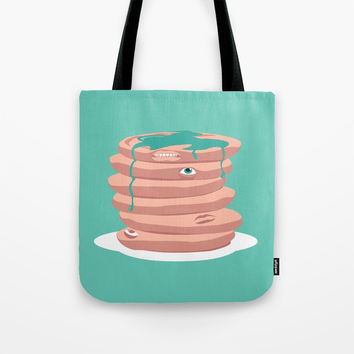 Paincakes Tote Bag by trash-id