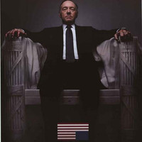House of Cards TV Show Poster 24x36