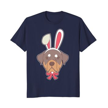 Funny Rottweiler Dog Happy Easter Decorations 2018 Shirt