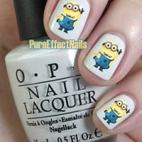 Despicable Me Minion Nail Decals