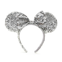 Disney Minnie Mouse Silver Ears | Disney Store