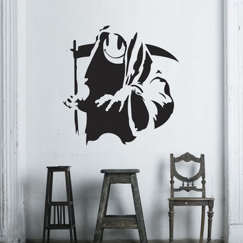 Banksy Grim Wall Decals