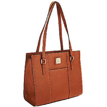 Dooney & Bourke Saffiano Leather Charlotte Bag — QVC.com