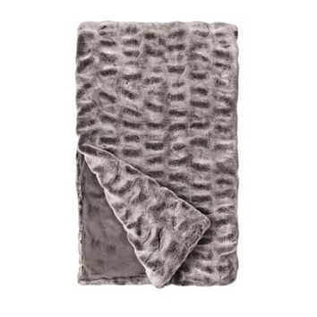 Couture Faux Fur Throw