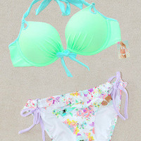 New Victoria's Secret Gorgeous Push Up Bikini Swimsuit 32A  S