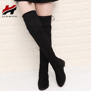 Over The Knee High Suede