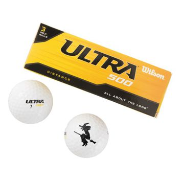 Halloween Witch Golf Balls
