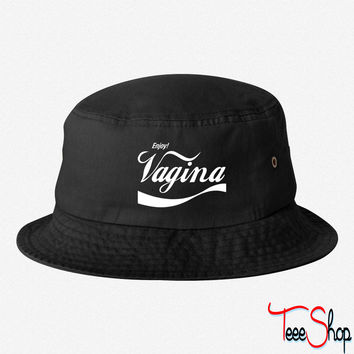Enjoy Vagina bucket hat