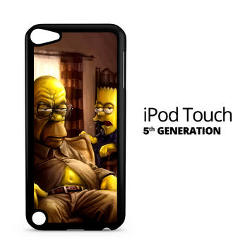 The Simpsons Homer Marge Bart Breaking Bad iPod Touch 5 Case