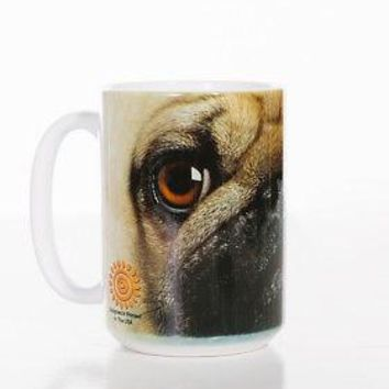 New PUG BIG FACE PUG 15 OZ CERAMIC COFFEE MUG   the mountain