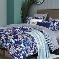 Indigo Lotus Twin XL Comforter