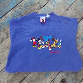 Walt Disney world family sweatshirt vintage Mickey