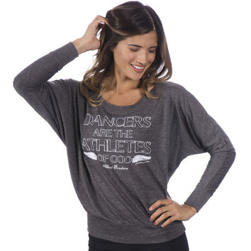 Dancers are the Athletes of God - Off Shoulder Tee
