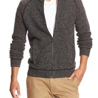 Banana Republic Mens Factory Mock Neck Sweater Jacket
