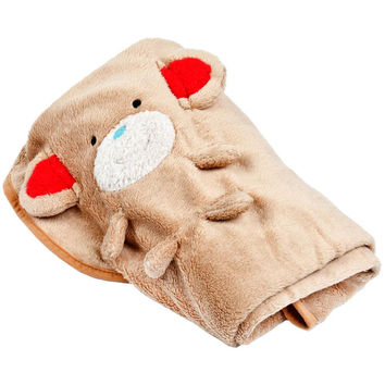 Monkey Body Soft Plush Infant Blanket