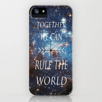 Together We Can Rule the World (image credit www.hubblesite.org NASA & STScI) iPhone Case by CrazyJane | Society6