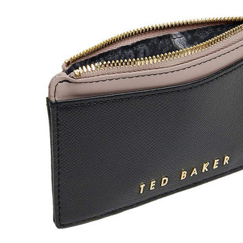 Ted Baker Kinnble Leather Coin Purse at John Lewis