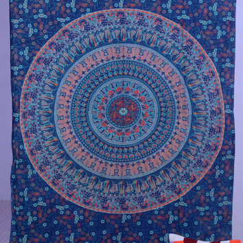 Indian Mandala Tapestry, Camel Mandala Tapestry, Bohemian Tapestry, Indian Tapestry, Beach Sheet, Dorm Room Tapestry, Throw wall hanging