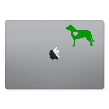 Labrador Retriever Love Sticker for MacBooks and Apple Devices