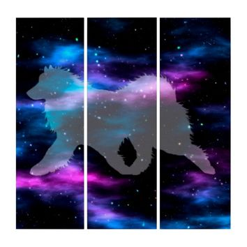 """Star Stuff"" Triptych Wall Art"