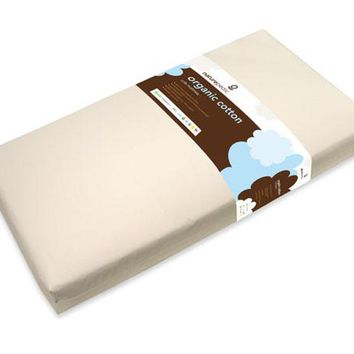 Naturepedic Organic Cotton Crib Mattress: 2-Stage (Infant & Toddler)