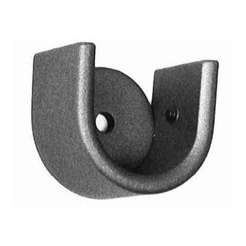 ONA Drapery Low Profile Socket Wrought Iron Curtain Rod Bracket