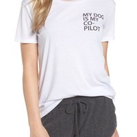 Chaser My Dog is My Co-Pilot Tee | Nordstrom