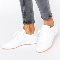 Pink | Reebok Npc Ii Trainers With Pink Heel And Sole Detail at ASOS