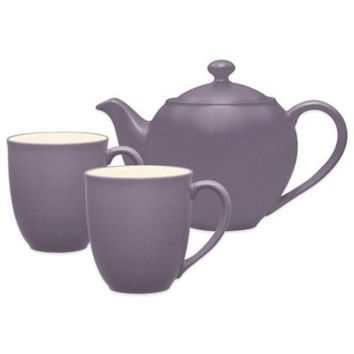 Noritake® Colorwave 3-Piece Tea-for-Two Teapot Set in Plum