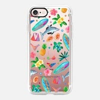 California Beach - transparent iPhone 7 Case by Micklyn Le Feuvre | Casetify