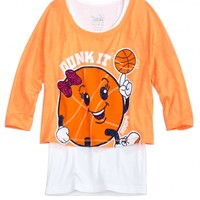 Crop Over Long Sports Tee   Girls Sweaters Clothes   Shop Justice