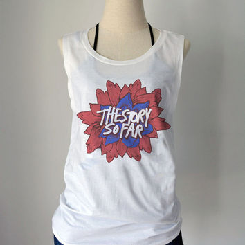 The Story So Far Band Logo - women's singlet Tank Top shirt - music billboard - XS - S - M - L