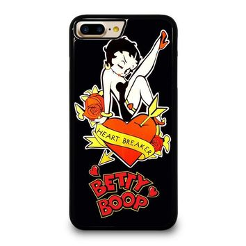 BETTY BOOP heart breaker iPhone 7 Plus Case Cover