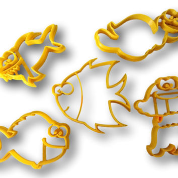 Ocean Creartures Cookie Cutter