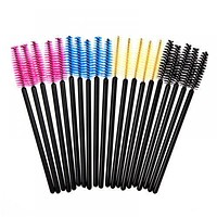 50Pcs Eyelash brushes Makeup brushes Disposable Mascara Wands Applicator Spoolers Eye Lashes Cosmetic Brush Makeup Tools