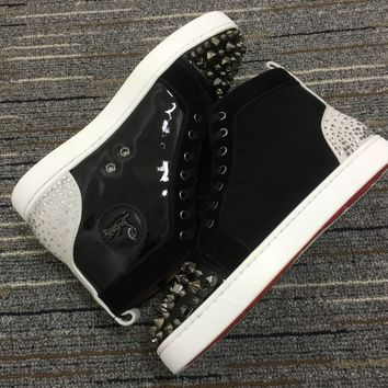 Christian Louboutin Cl Lou Spikes Orlato Sneakers Reference 7 - Best Online Sale