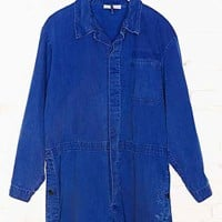 Vintage Indigo Coverall Romper - Assorted One